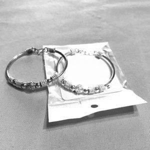 Two matching bracelets